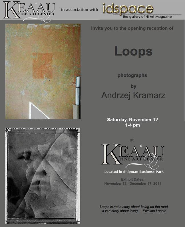 Andrzej Kramarz Exhibit runs through Dec. 17, 2011