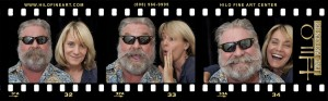 Funny film strip photos