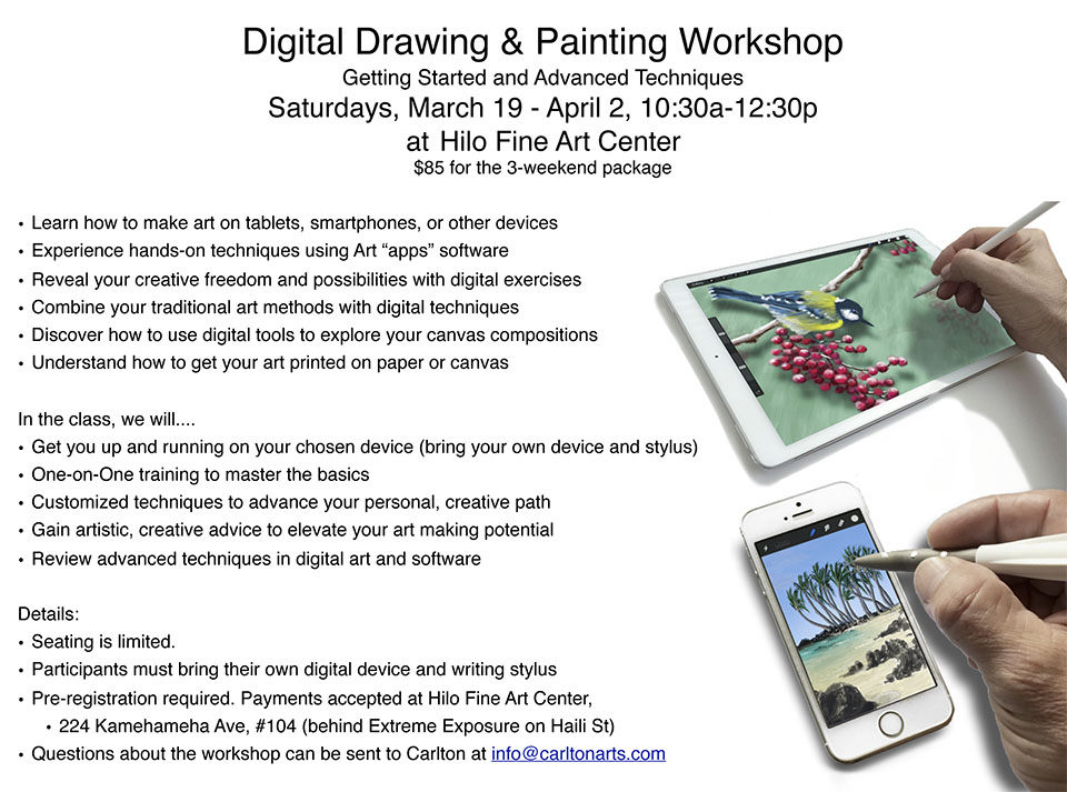 See workshop details here!